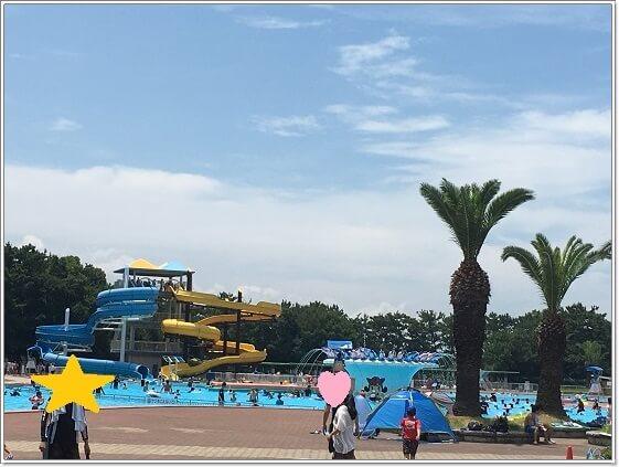 ジャイアントプールのある浜寺公園