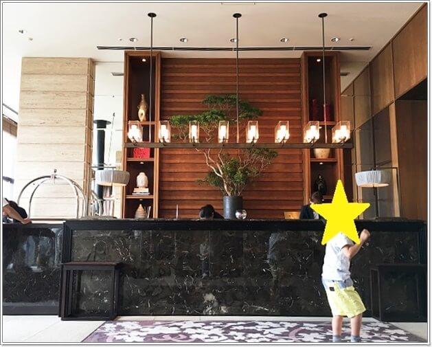 神戸オリエンタルホテルのロビー