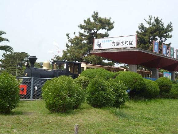 浜寺公園交通遊園汽車乗り場