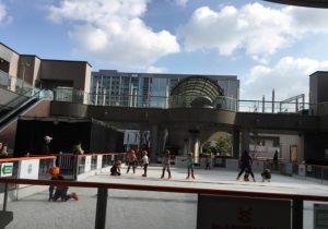 駅直結スケートリンク『アゴーラ・リージェンシー堺』でスケート遊び