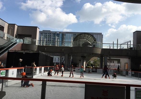 アゴーラリージェンシー堺のスケートリンク
