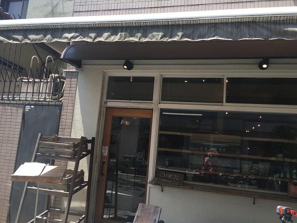 カフェグランの外観
