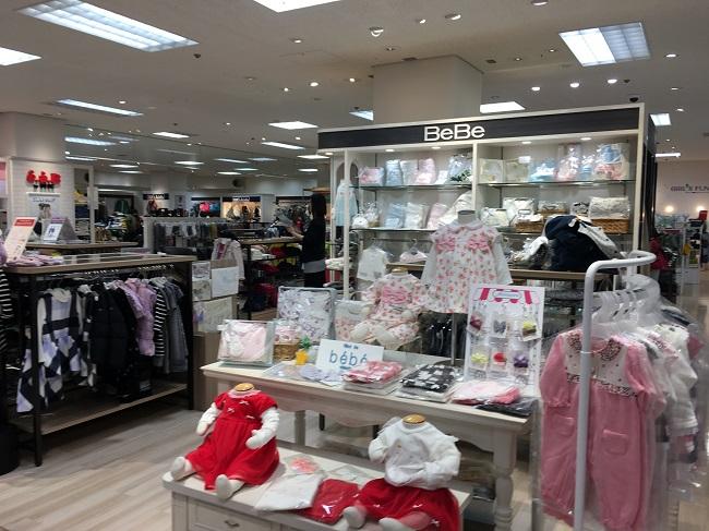7階子供服売り場