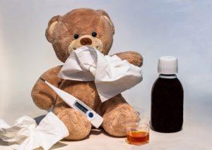 高熱で扁桃炎と思ったら夏風邪だったのでホッとしたお話。