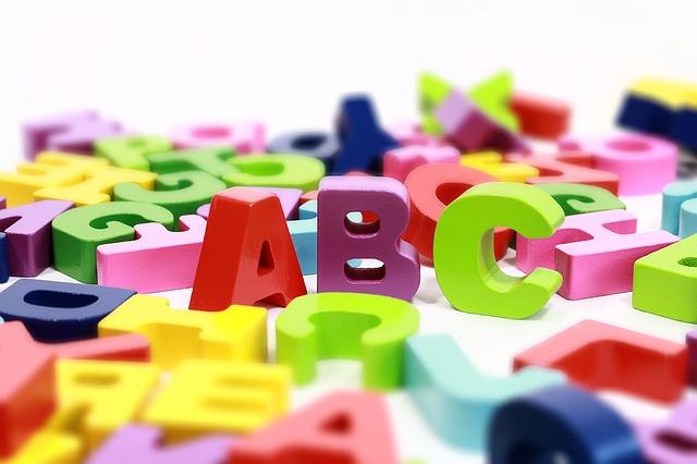 複数のアルファベット