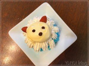 プリキュアアラモード☆あおちゃんの『らいおんアイス』を作りました☆