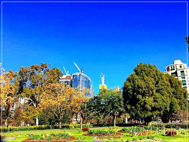 メルボルンの公園