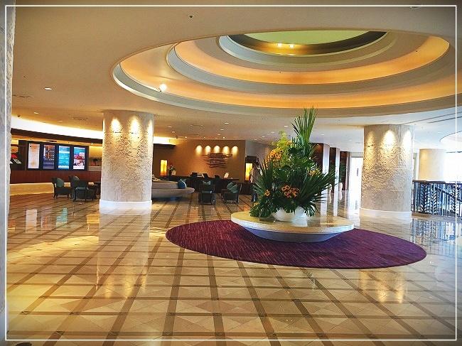 ANAインターコンチネンタルホテルのロビー