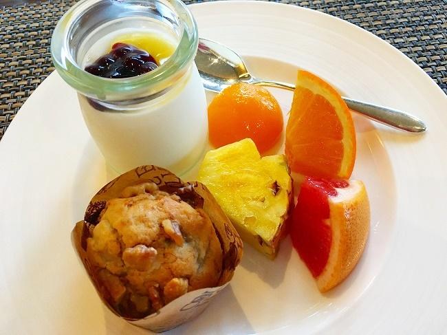 ANAインターコンチネンタルホテルの朝食