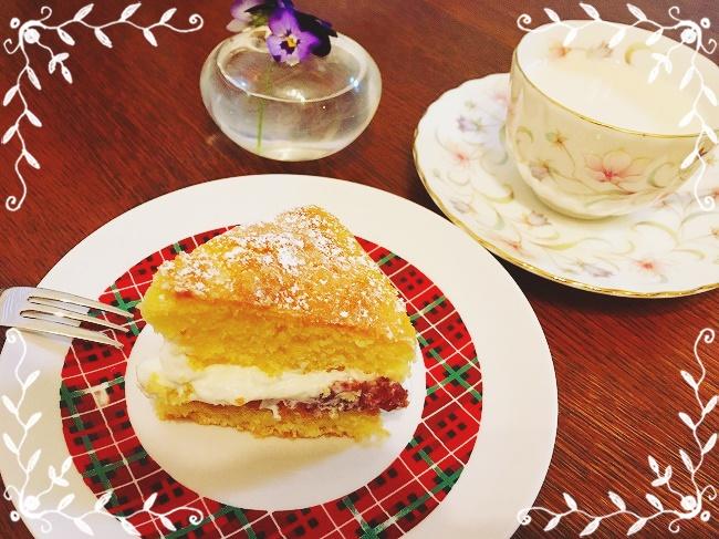 簡単で美味しいヴィクトリアンケーキのレシピ。イギリスの味を満喫
