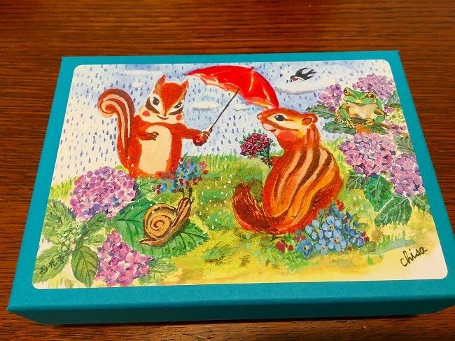 リスの箱「西光亭」クッキーは3度楽しめるよ!手土産におすすめ