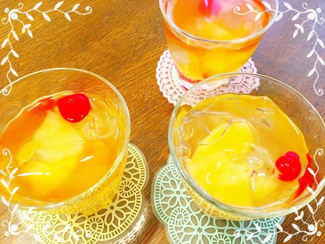 脱マンネリ解消!ツルンと美味しいフルーツゼリージュースの作り方