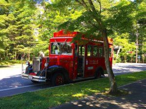 軽井沢のバス
