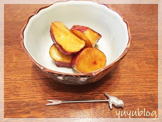 揚げてからめるだけ!簡単大学芋のレシピ。水飴タレで冷めてもトロリ