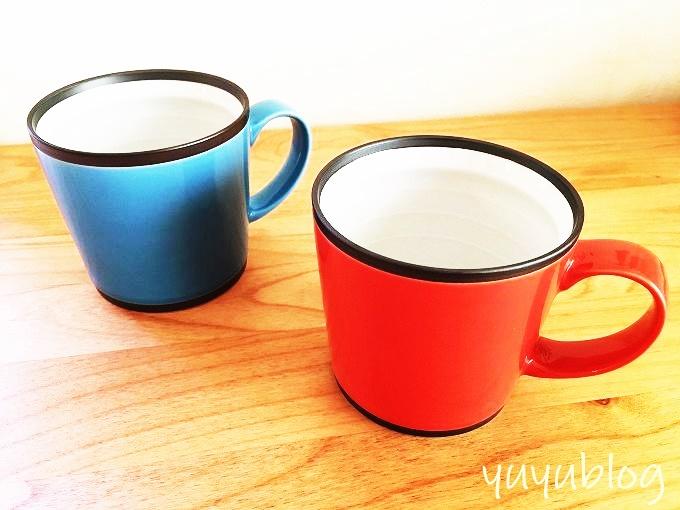 波佐見焼のワビマグカップ