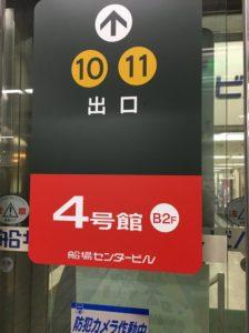 ファンビ寺内の最寄り駅堺筋本町駅
