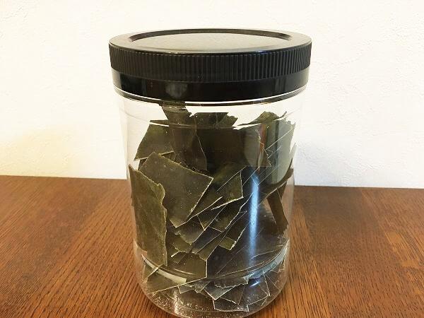 だし昆布の保存方法。切っておくだけで出汁づくりが簡単になる
