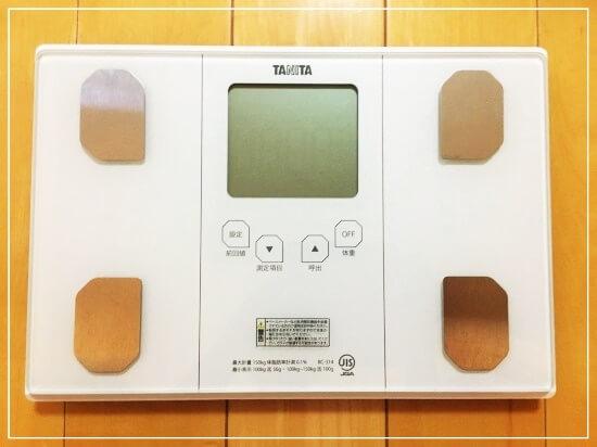 タニタのおすすめ体重計BC-314を買った感想を詳しく述べます
