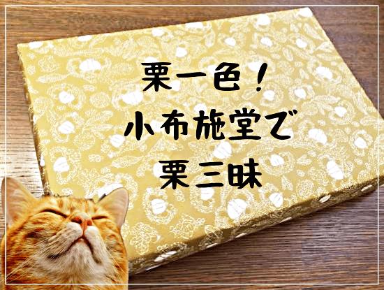 栗好きなら一度は食べたい「小布施堂」(おぶせどう)の栗菓子