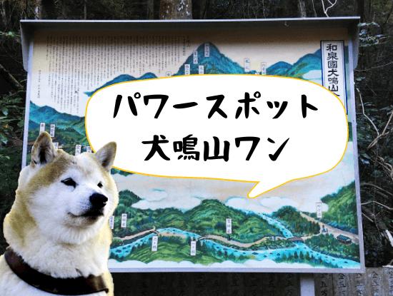 犬鳴山の地図
