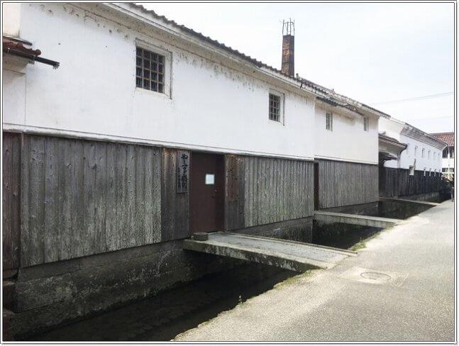鳥取県倉吉市の白壁土蔵群