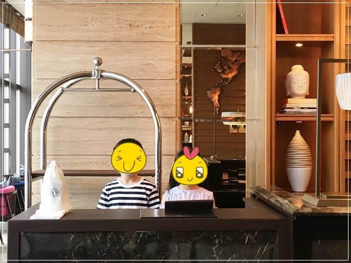 オリエンタルホテル神戸のキッズクラブで職業体験させてみた