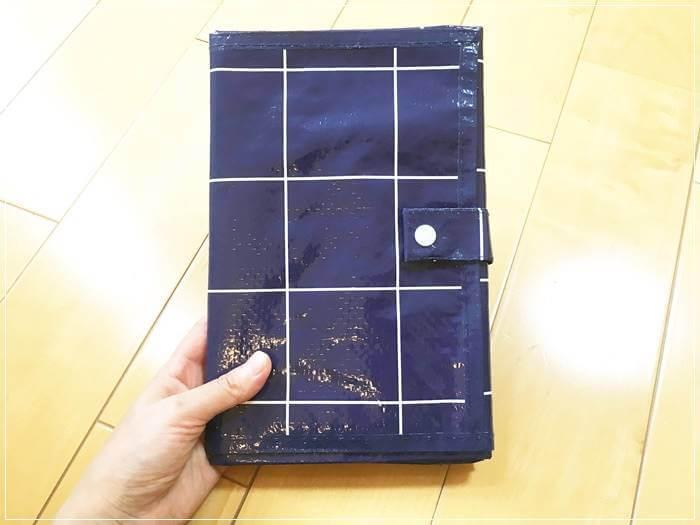 【イオン】1人用折りたたみレジャーシートがコンパクトで使いやすい
