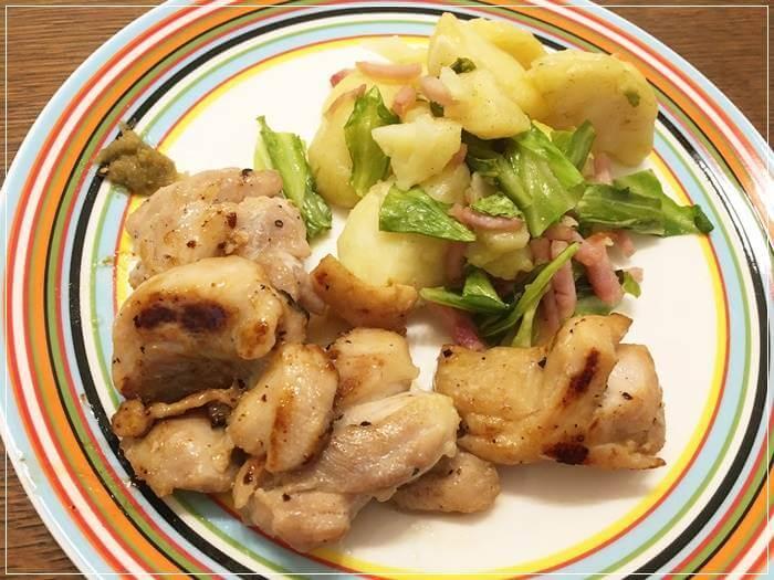 塩麴に鶏肉をつけるだけ!ヘルシーな鶏の柚子胡椒ぞえの作り方